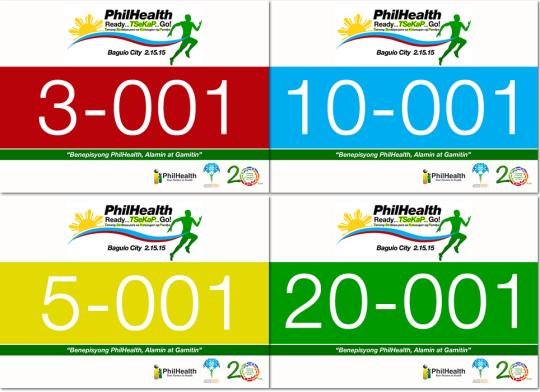 PhilHealth-Run-2014-Race-Bib