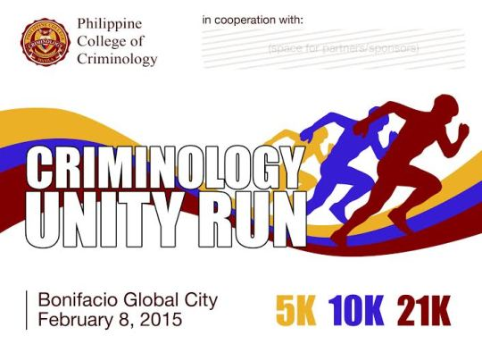 Criminology-Unity-Run-Poster