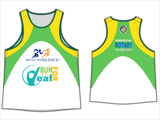 Run-for-the-deaf-Singlet