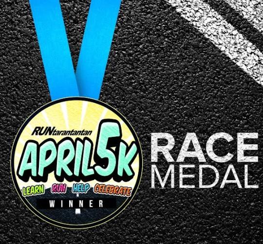 April5K-Medal