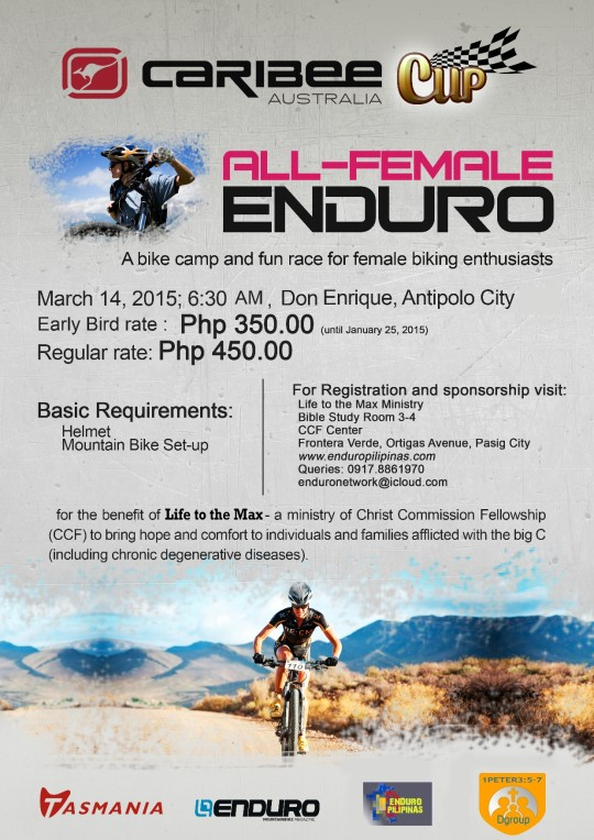 Caribee-All-Female-Enduro-Poster