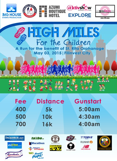 High-Miles-For-The-Children-Poster