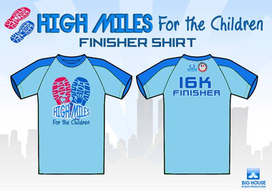 High-Miles-For-The-Children-finisher-shirt