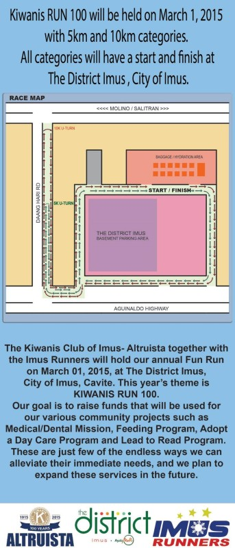 Kiwanis-Run-100-Race-Route