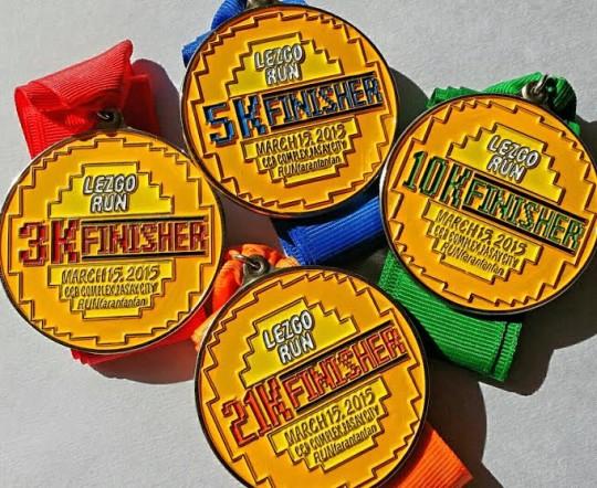 Lezgo-Run-Medals