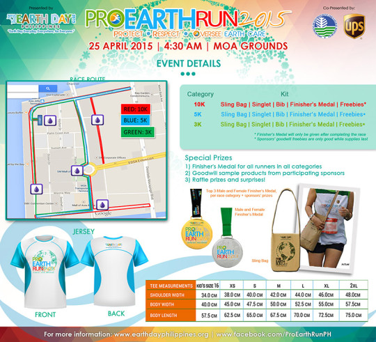 Pro-Earth-Run-2015-Map-Shirt-Medal-Singlet-Bag