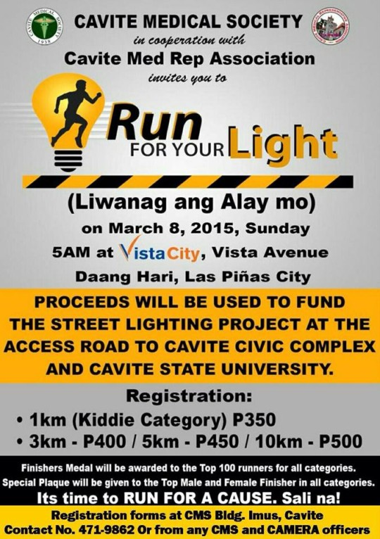 Run-For-Your-Light-Poster