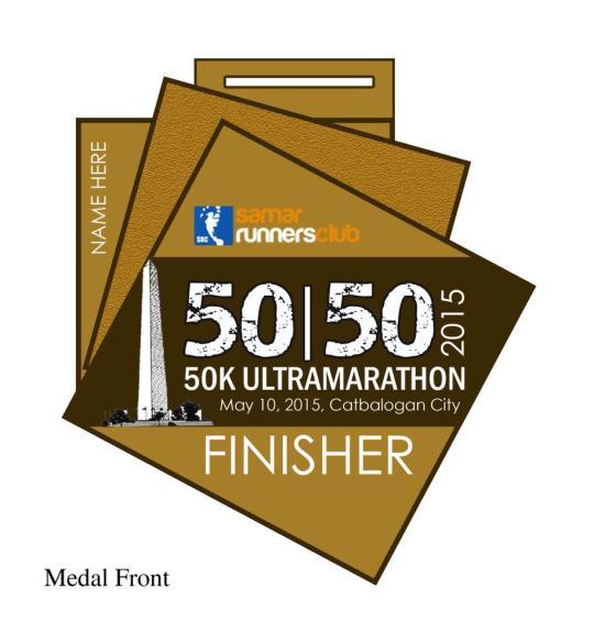 SRC-5050-50K-Ultramarathon-Medal