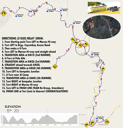 Sierra-51050-50K-Race-Route