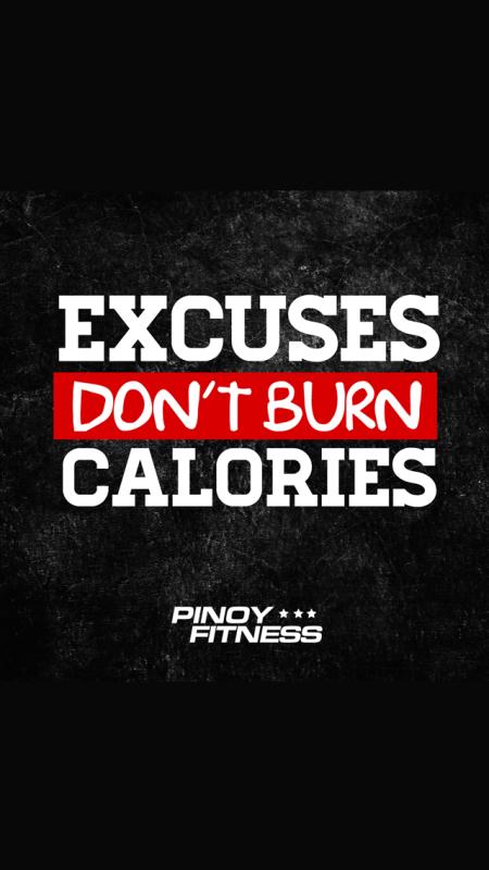 excuses-dont-burn-calories