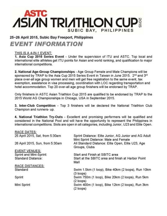 Asian-Triathlon-Cup-2015-Event-Info