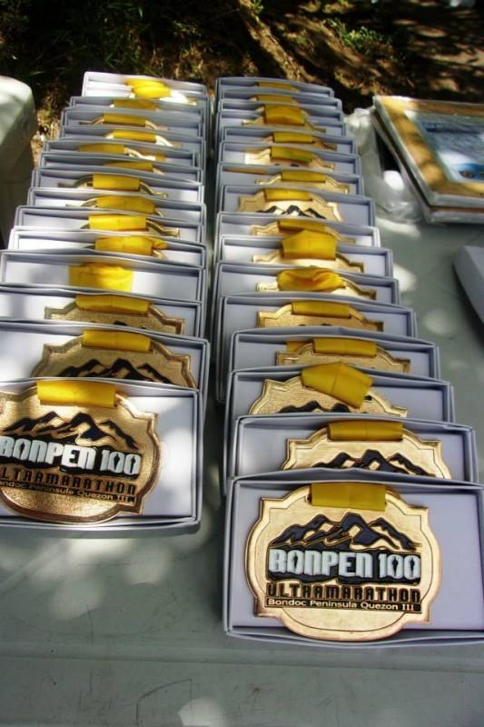 Bonpen100-Medals