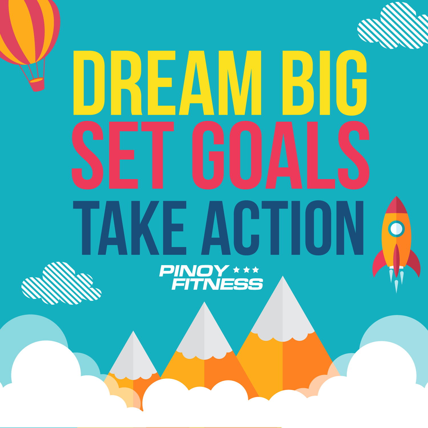 Dream Big Set Goals Take Action on relay basics