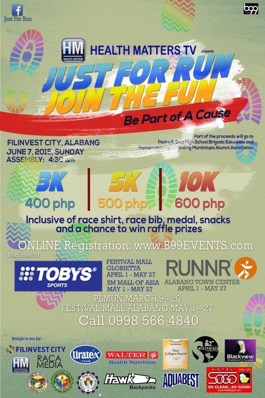 Just-For-Run-Join-The-Fun-Poster