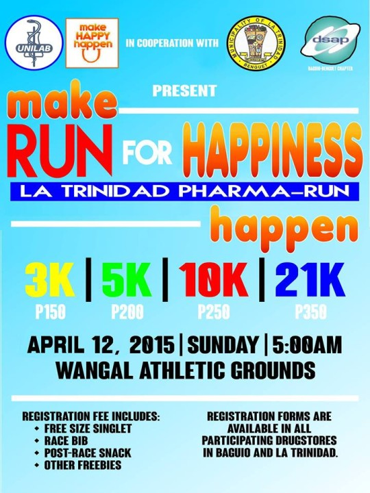 Make Run For Happiness Happen