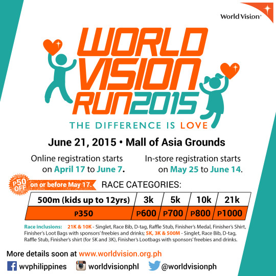 WV Run 2015 poster category price racekit inclusion