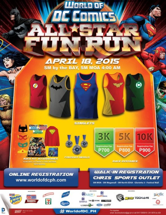 World-Of-DC-All-Star-Fun-Run-Poster