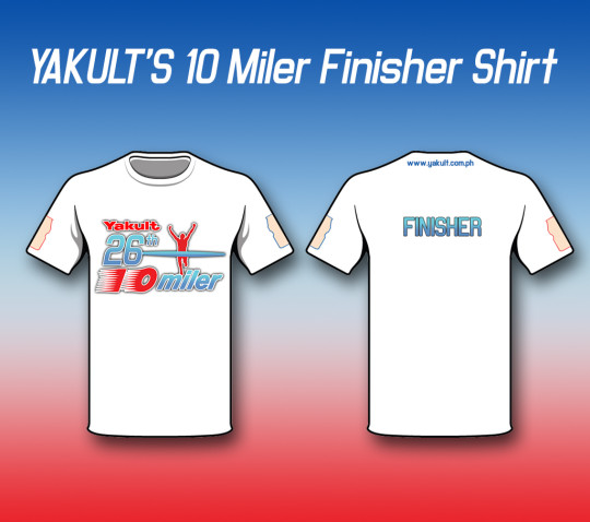 Yakult Finisher Shirt