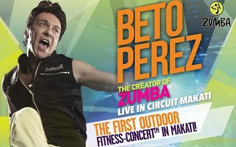 Berto-Perez-Zumba-Concert-Cover