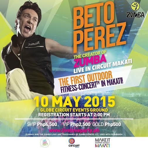 Berto-Perez-Zumba-Concert-Poster
