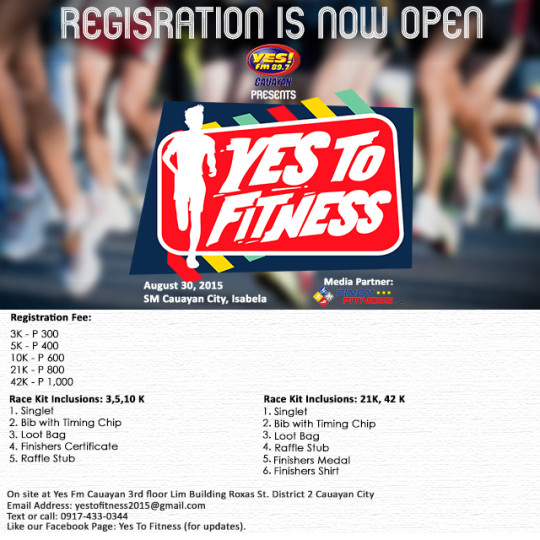 Yes To Fitness Poster v21