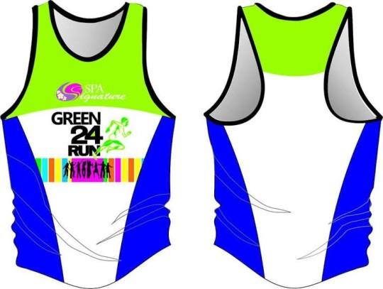 Green-24-Run-Singlet