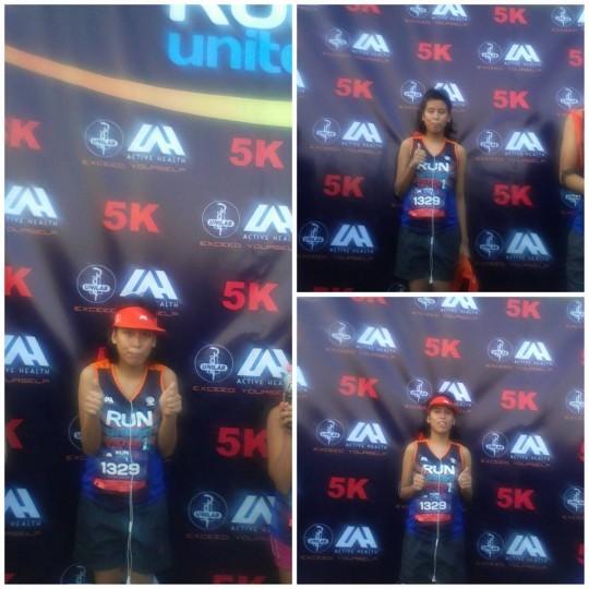 My 5K runner