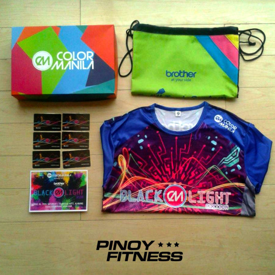 Pinoy-Fitness-Color-Manila-Blacklight-Edition-Race-Kit