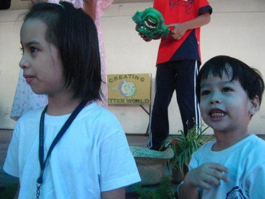 Sidney and Red at Pasay City Sped 2010