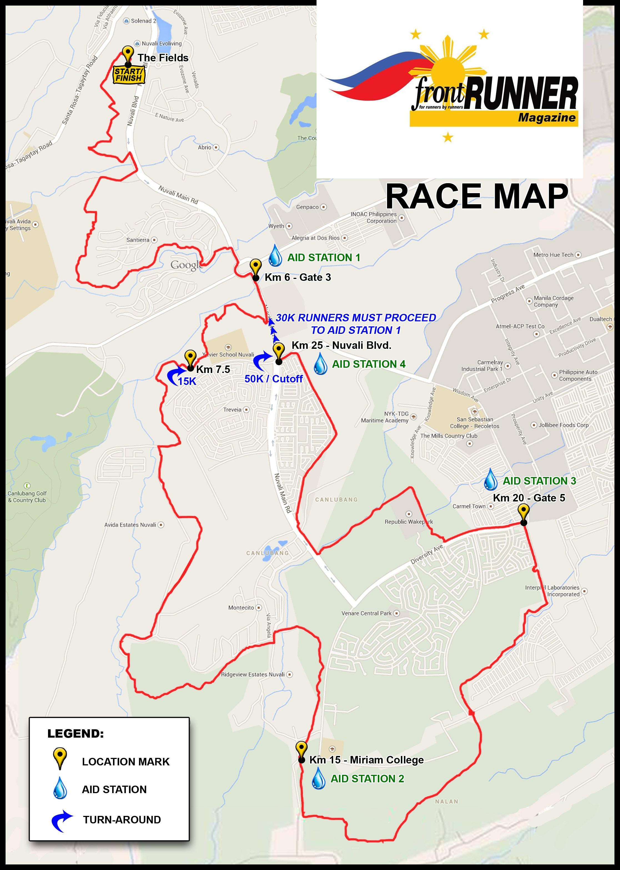 Frontrunner Valley Trail Challenge 5 Nuvali