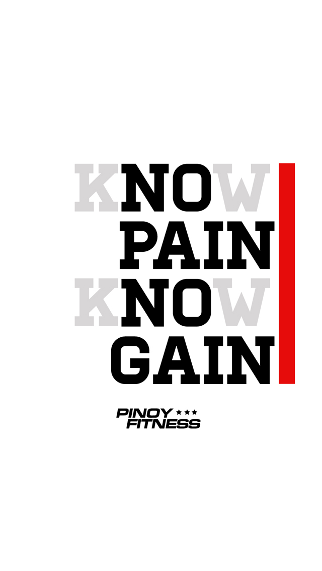 no-pain-no-gain | Pinoy Fitness