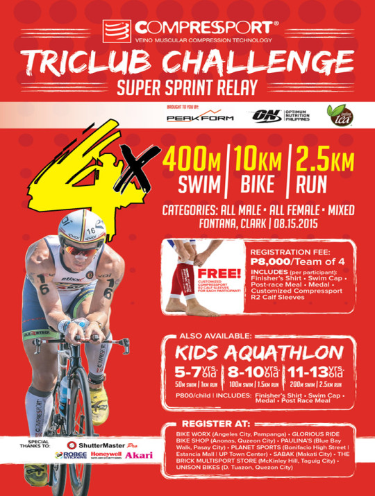 TriClub Poster