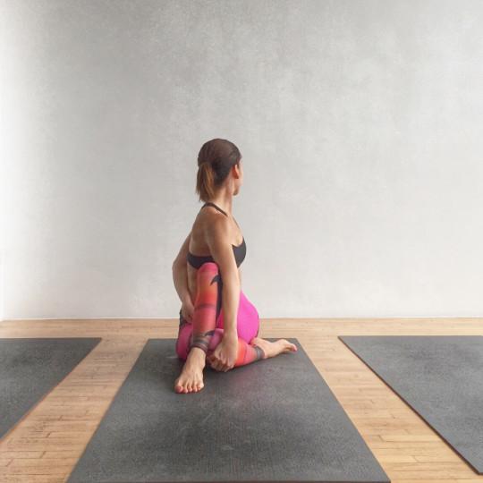 Spine Twisting Pose