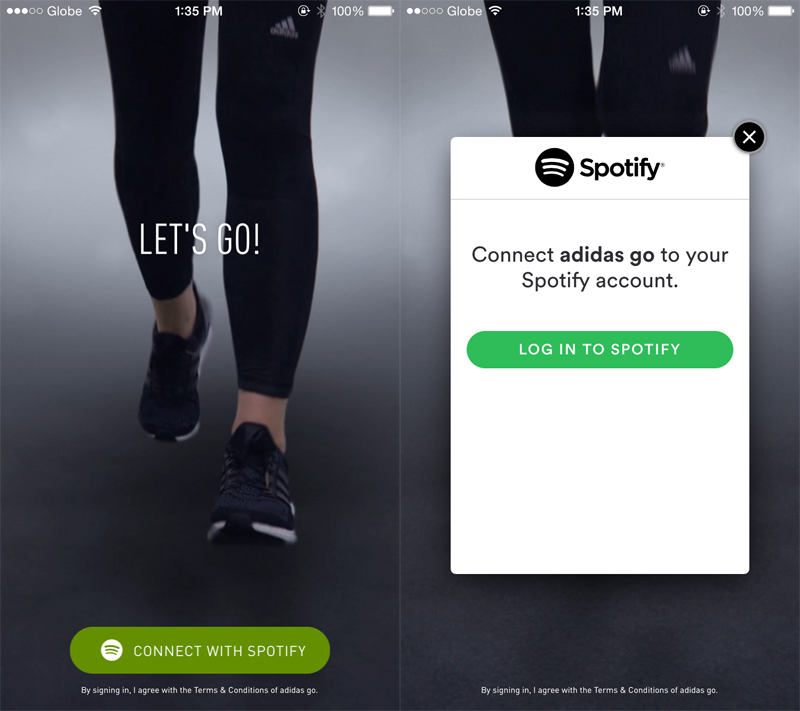 Adidas partners with Spotify to provide great Running Music