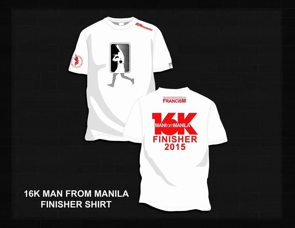 Remembering francism fun run 2015 pinoy fitness for Thrilla in manila shirt under armour