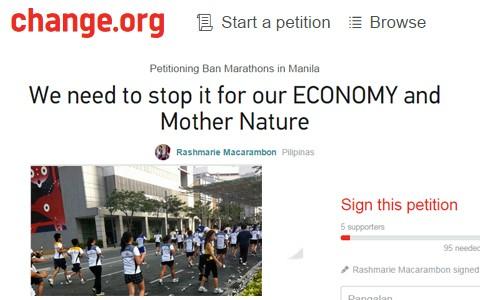 Ban Marathon change cover