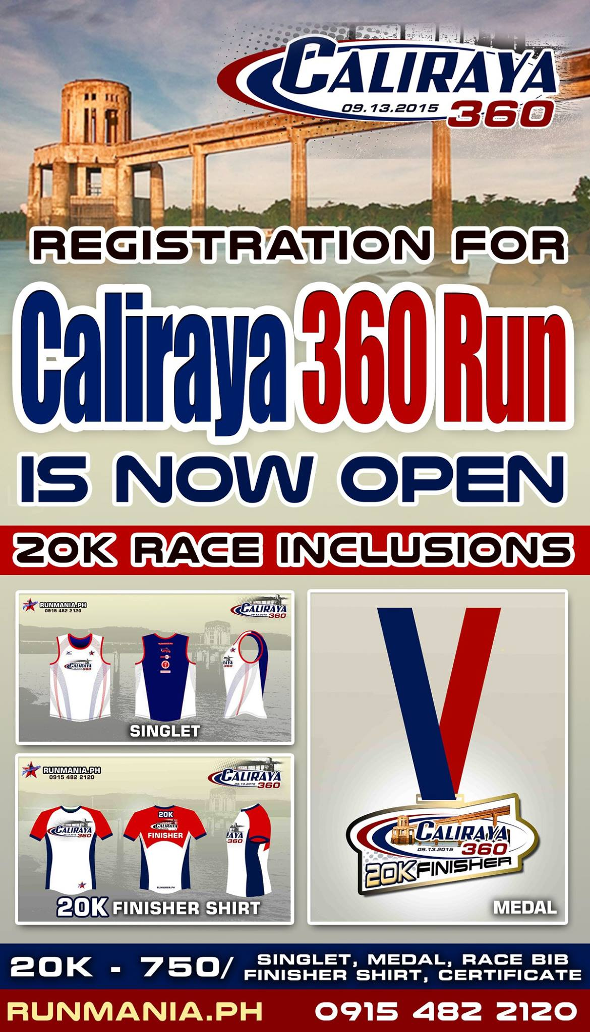 Caliraya 360 Run 2015 Lumban Laguna Registration
