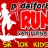 PEDAL FOR HIV RUN 2015 POSTER COVER
