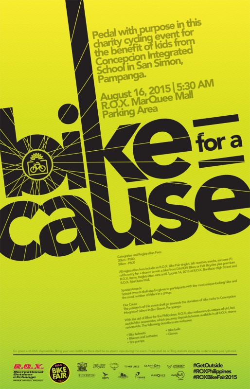 18x28_ROX Bike for a Cause_Poster