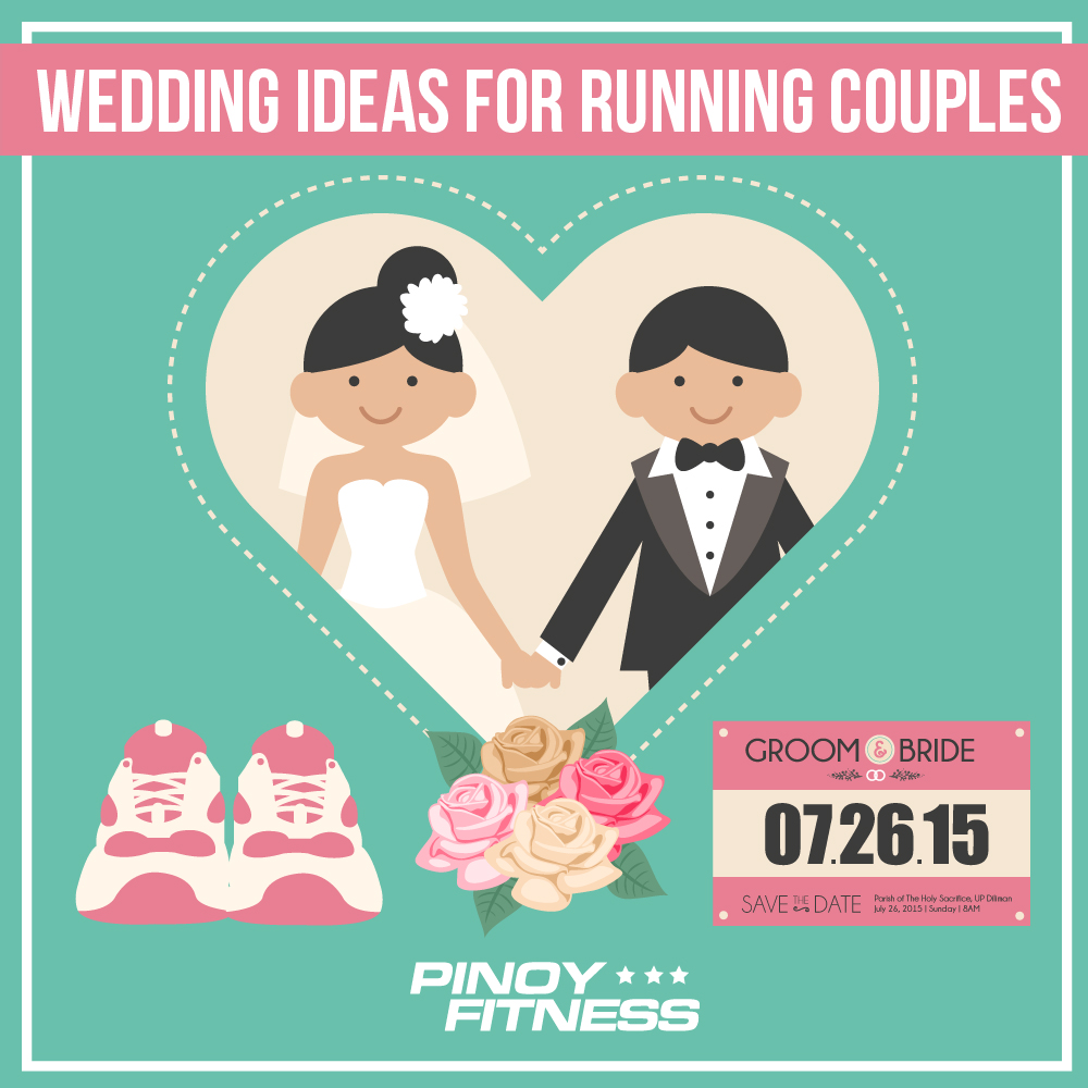 5 wedding ideas for running couples | pinoy fitness