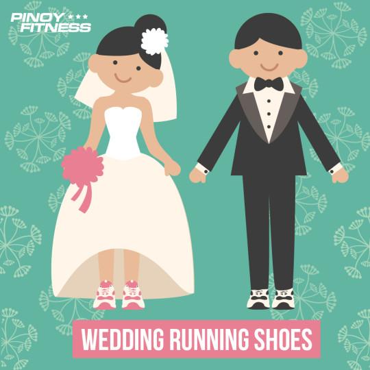 Wedding Running Shoes