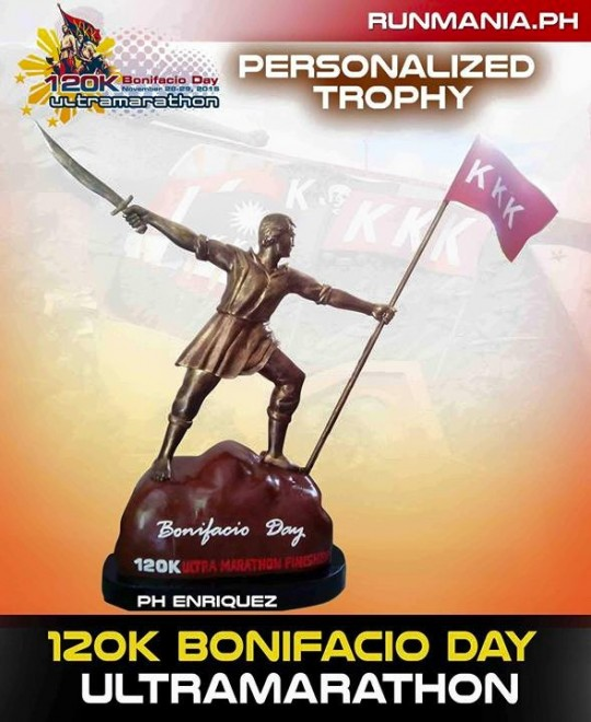 120K-Bonifacio-Day-Ultramarathon-2015-Trophy
