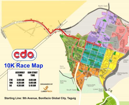 CDO-@-40-Run-for-Odyssey-2015-10K-Race-Map