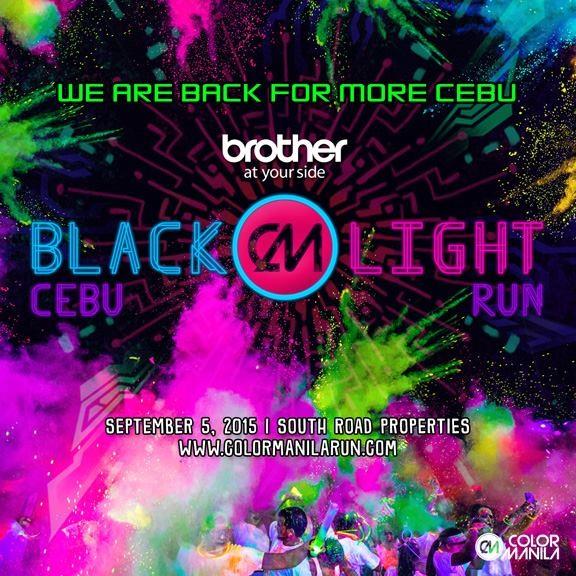 CM Blacklight Cebu Run 2015 Poster V1