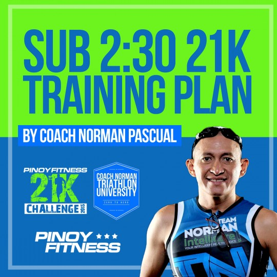 Sub 230 21K Training Plan Article