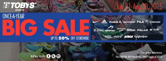 Tobys-Sports-Big-Sale-July-August-2015