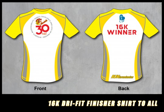 16K ANDOKS FINISHER SHIRT