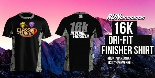 16k finisher
