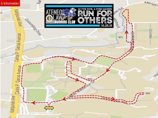 Ateneo-law-running-club-fun-run-route-map-5k