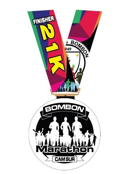 Bombon-Marathon-21K-Finishers-Medal